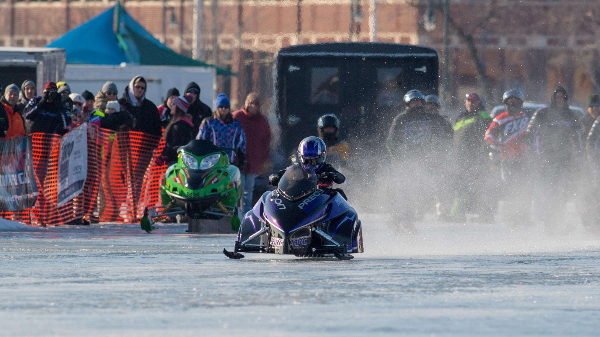 National Straightline Snowmobile Racing